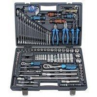 Универсальный набор инструментов 143 предмета 1/4 и 1/2 6-гранный LICOTA (ALK-8009F)